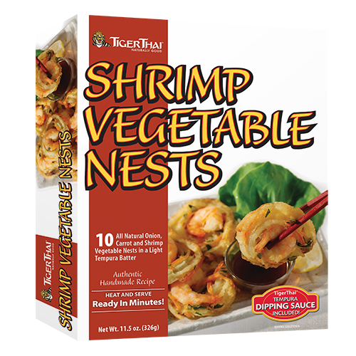 Shrimp & Vegetable Nests image